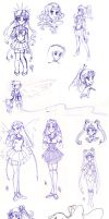 - pen doodles- by nephrite-butterfly