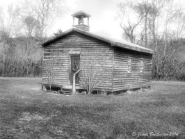 Mill Creek One Room Schoolhouse by jim88bro