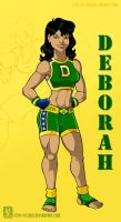 Deborah, the Boxer by Cid-Vicious