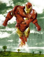 I am Iron Man by wilminetto
