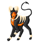 Houndoom by GlassTheAbsol