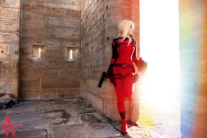 Lady Deadpool II by Black Cat by AndyWana