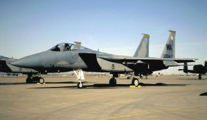 F-15 Division, USAF Weapons School Jet by F16CrewChief