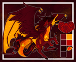 .:AUCTION:. Molten Heart CLOSED by DapperDoom
