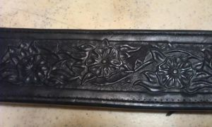 Scabbard - carving closeup by Kristiantyrann