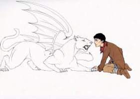 Merlin and The Beast by WhatItMeansToBeHuman