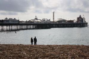 brighton beach. by tehuberkami