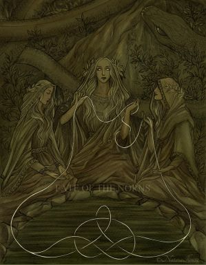 The Norns by UnripeHamadryad