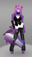 Gothic Skunk by Whatever1702