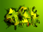 Green Vector Wallpaper 2 Pack by Elramo