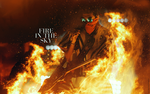 Fire in the Sky | Tom Kaulitz wallpaper by DarknessEndless