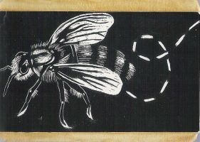 Bee - ATC by WordsAreMyWeakness