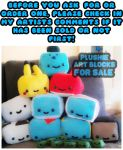 PLUSHIE ART BLOCKS FOR SALE! by chi-u