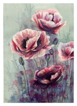 Lovely Emotion by SALTWatercolors