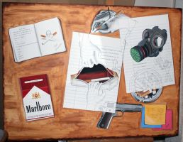 Canvas Painting: Smoking by Artatyourservice