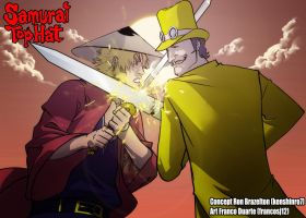 Samurai Tophat Takeo vs Sir Colonel Doyle by KENSHINRO7