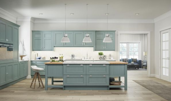 Trench Coat Grey 1909 Kitchen by kulayan3d