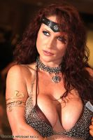 Brittany Love as Red Sonja by Insane-Pencil