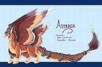 Astraea Reference Sheet by Elycian