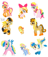 Family Adopts Batch 7 out of Surprise Fly by Yoshi123pegasister