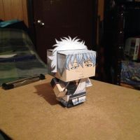 Sakata Gintoki CubeeCraft by SuperVegeta71290