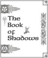 Book of Shadows cover page 2 by Sandgroan