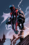 Spider-man 2099 by J-Skipper