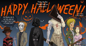 Happy Halloween 2011 by xXPariahsXx