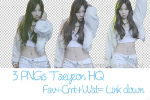 3 PNGs Taeyeon by Cami by Camidore