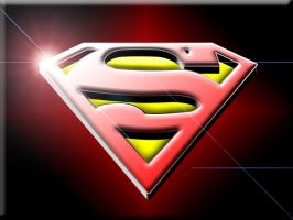 Superman Logo Wallpaper by Darthgog