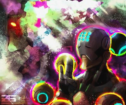 Overwatch - Zenyatta by Zinrius