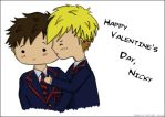 Valentine!Niff Colored by ItsDaniDee