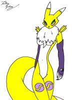 . : Renamon : . by TalbainJackson