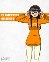 Character bio - Clementine by OmegaDez