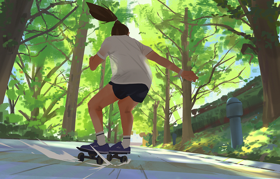 Skater Girl by snatti89