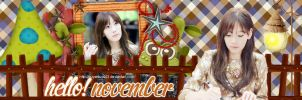 Hello November by quyenluv003