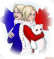 APH - The American Brothers by AlbinoNial