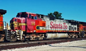 bnsf 618 ex atsf by SMT-Images