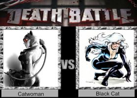 DEATH BATTLE Idea Catwoman VS Black Cat by JefimusPrime