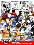 BEST CHARACTER CATEGORY by komikon