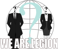We Are Legion by Binary-Ink