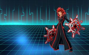 Tron Axel Wallpaper by RoxasTsuna
