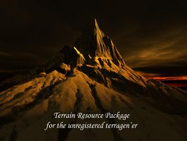 Terrain resources for terragen by alyn