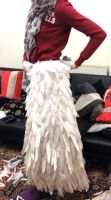 Lightning XIII-2 Feather Skirt by Ellwell