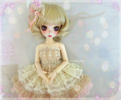 For Sale: LE HoneyPink Dress Set for YOSD sizes by miakyou
