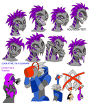 Talis faces. by WerewolfThorn