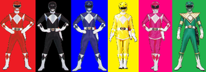 Mighty Morphin (Adrenalineverse) by AdrenalineRush1996