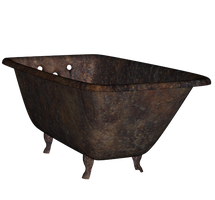 Rusty Old Bathtub 2 png by mysticmorning