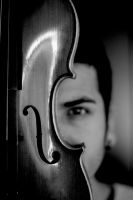 violin-portrait by carchar0th