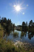 Molde water sunny day by Chanut94